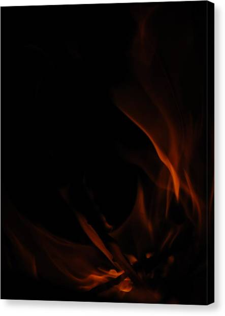Burning Desire Canvas Print by Kimberly Camacho
