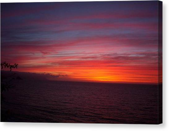 Burning Sky 2 Canvas Print by James Johnstone