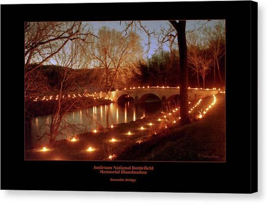 Burnside Bridge 96 Canvas Print