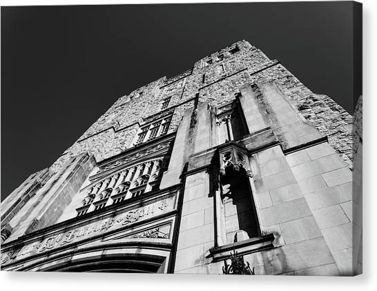 Virginia Polytechnic Institute And State University Virginia Tech Canvas Print - Burress Hall At Virginia Tech by Bryan Pollard