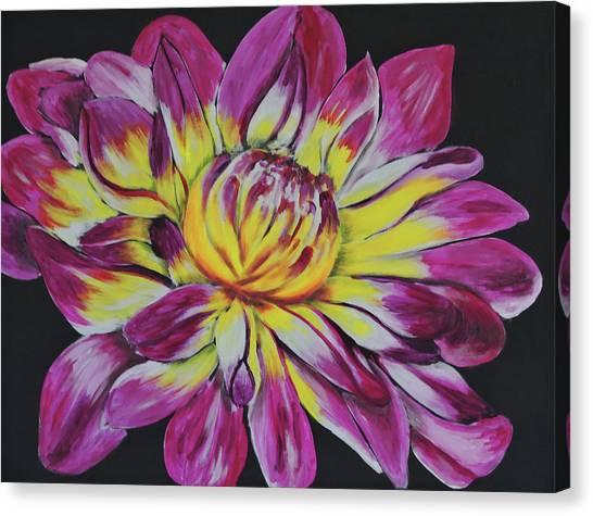 Bursting Bloom Canvas Print