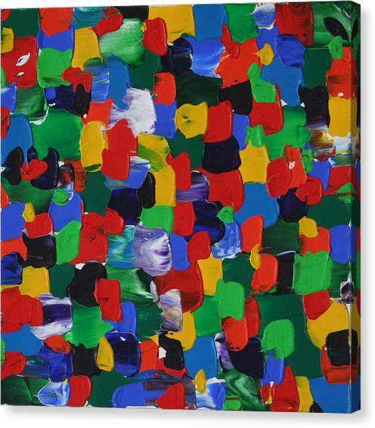 Bursting Chakra Canvas Print by Malik Jaffer