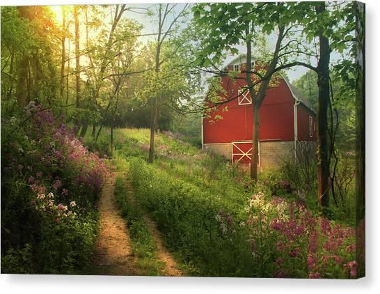 Ohio Valley Canvas Print - Bursting Forth by Rob Blair