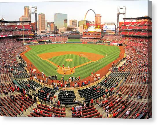 Busch Before The Game Canvas Print