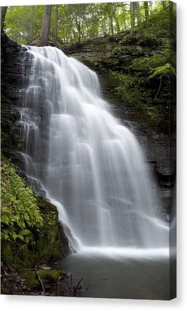 Bushkill Falls - Daughter Fall Canvas Print