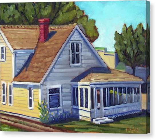 Bushnell House - Eagle Idaho Canvas Print