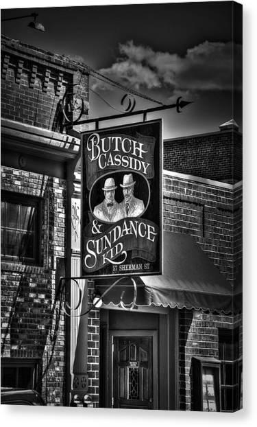 Butch Cassidy And The Sundance Kid Canvas Print