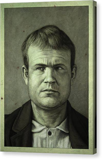 Bank Canvas Print - Butch Cassidy by James W Johnson