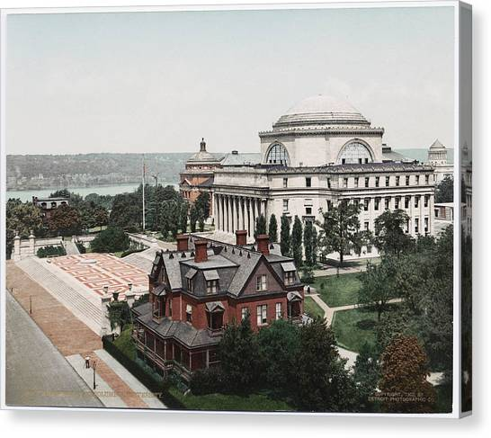 Butler Library At Columbia University Canvas Print