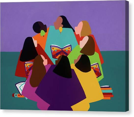 Canvas Print - Butterflies Dream by Synthia SAINT JAMES