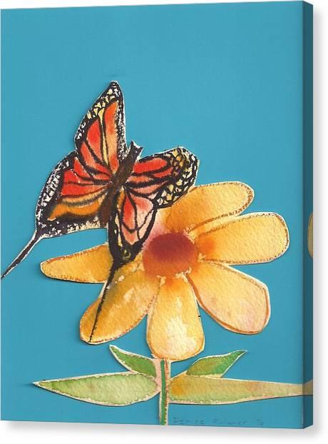 Butterflower Canvas Print
