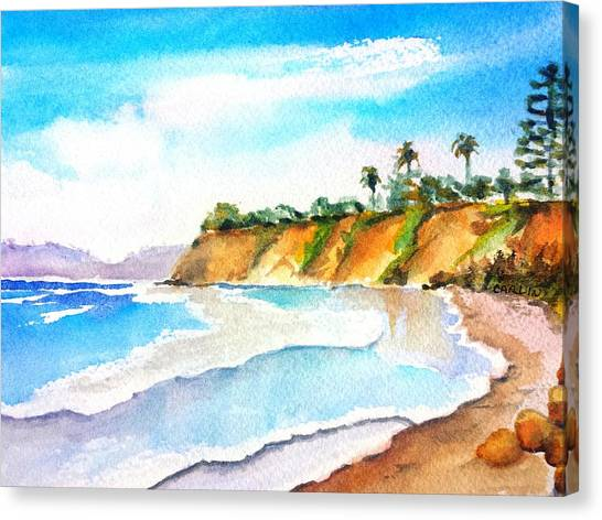 Butterfly Beach Santa Barbara Canvas Print
