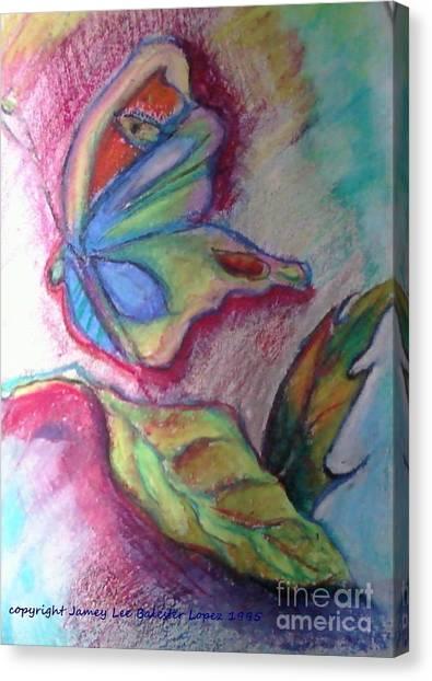 Butterfly Beauty Canvas Print by Jamey Balester