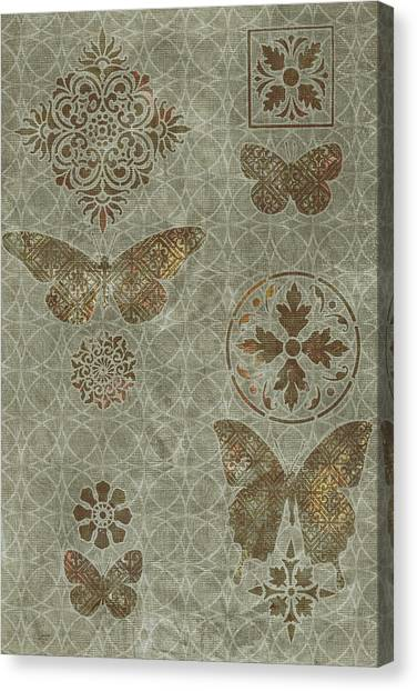 Butterfly Deco 2 Canvas Print