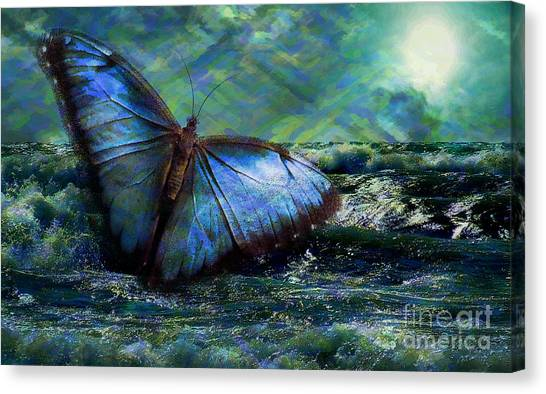 Butterfly Dreams 2015 Canvas Print