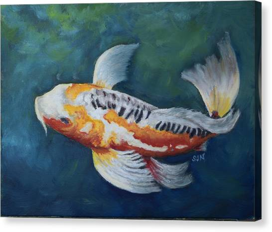 Butterfly Koi I Canvas Print