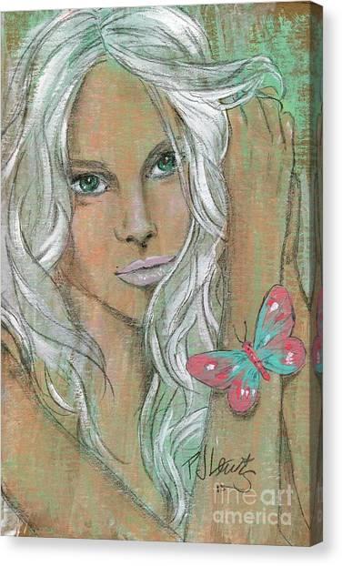 Elton John Canvas Print - Butterfly by PJ Lewis