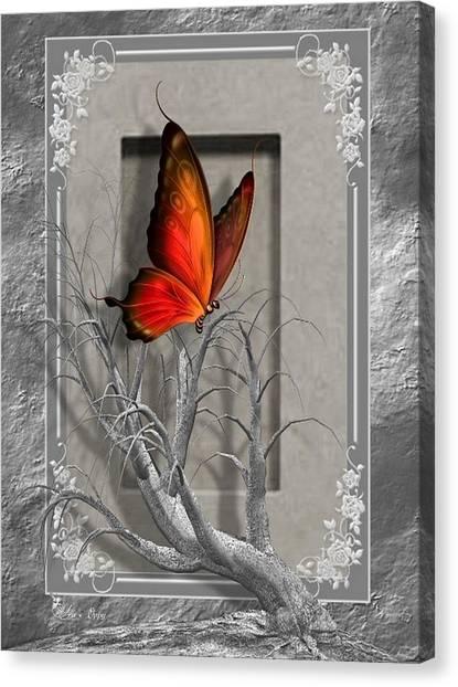 Butterfly Pop Canvas Print