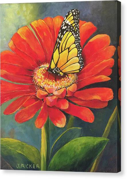 Butterfly Rest Canvas Print