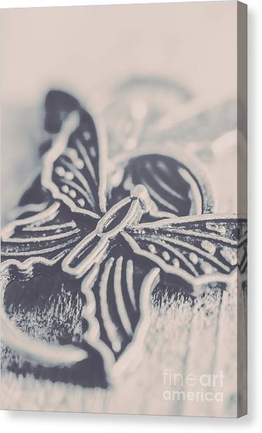 Good Luck Canvas Print - Butterfly Shaped Charm by Jorgo Photography - Wall Art Gallery