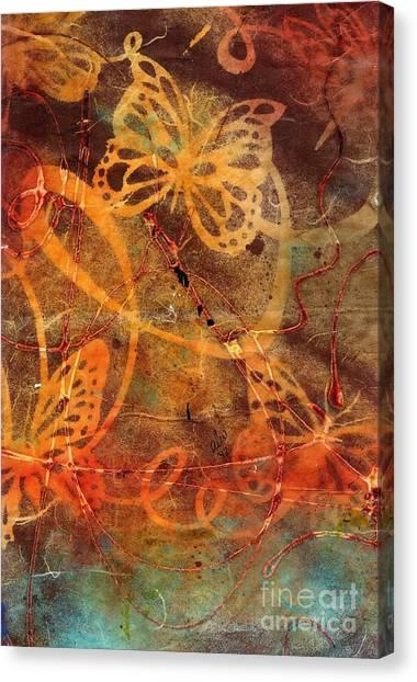 Butterfly Sun Dance Canvas Print