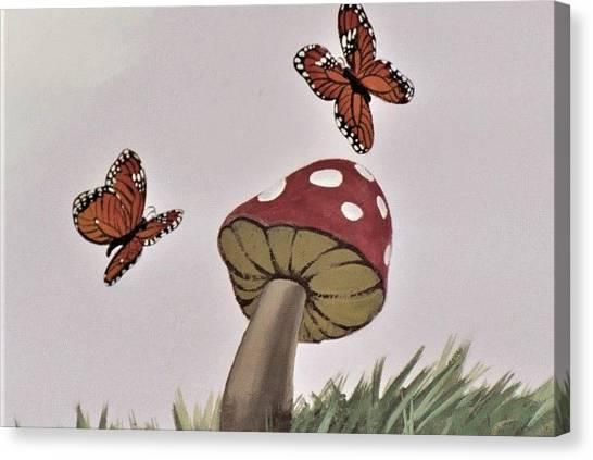 Butterlies Dancing Canvas Print