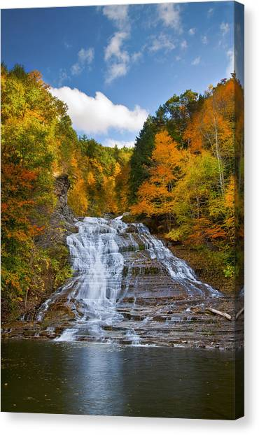 Buttermilk Falls 2 Canvas Print