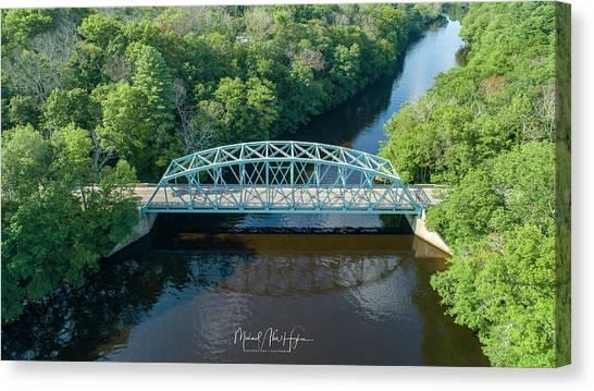 Butts Bridge Summertime Canvas Print