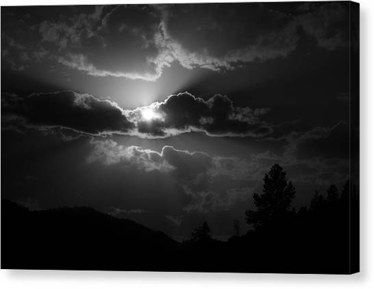 Bw4 Canvas Print by Wesley Hanna