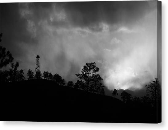 Bw5 Canvas Print by Wesley Hanna