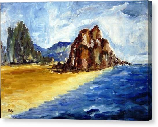 Bwiru Beach Mwanza Tanzania Canvas Print by Ujjagar Singh Wassan