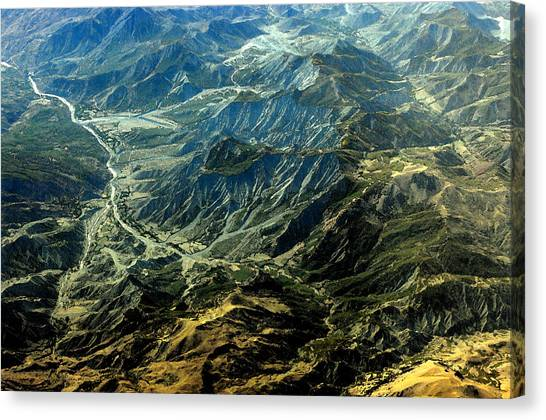 By Air Canvas Print by Don Prioleau