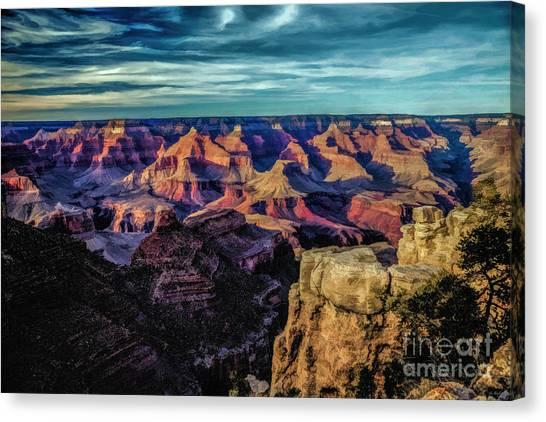 By The Dawns Early Light Canvas Print