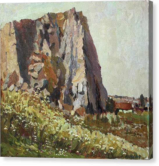 Ural Mountains Canvas Print - By The Stone Warrior by Juliya Zhukova