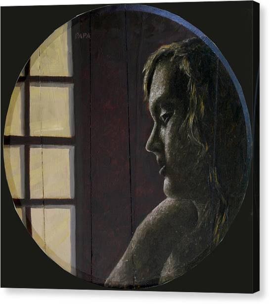 By The Window Canvas Print by Ralph Papa