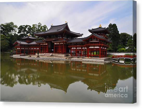 Byodoin Temple Canvas Print