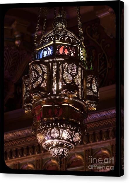 Byzantine Lamp Canvas Print