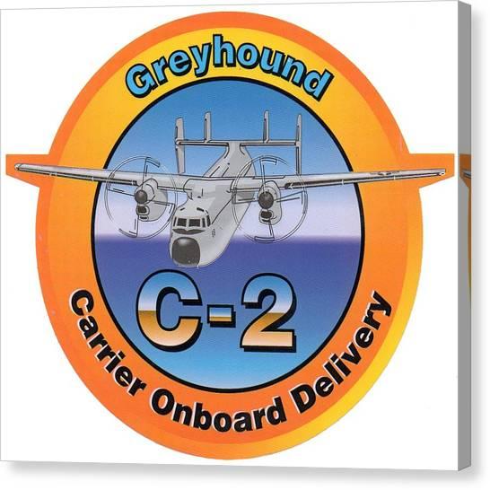 C-2 Greyhound Canvas Print