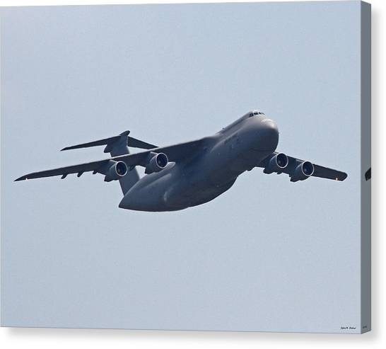 C-5b Galaxy 01 Canvas Print