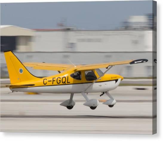 C-fgql Aircraft Canvas Print