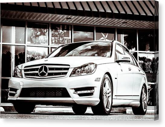 C250 In Black And White Canvas Print