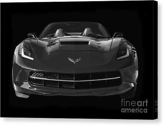 C7 Stingray Corvette Canvas Print