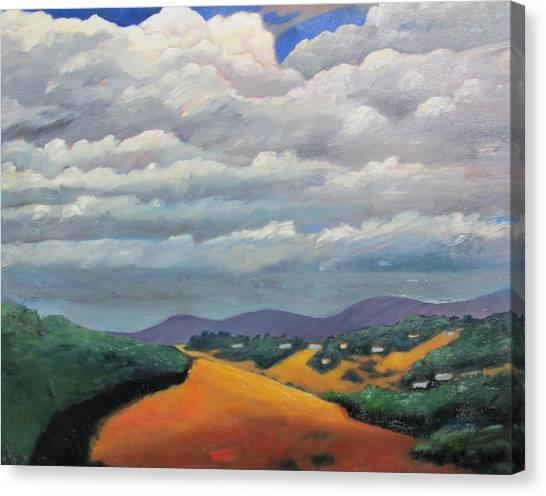 Ca Cloudscape Canvas Print