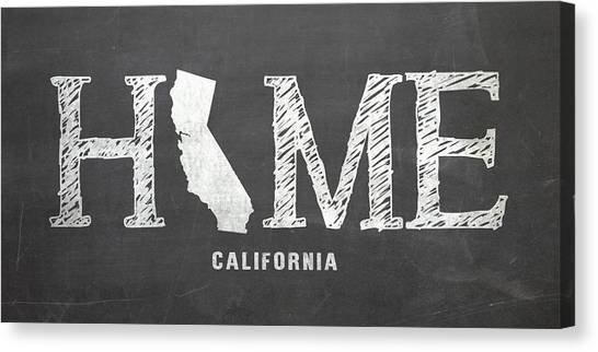 Ca Home Canvas Print