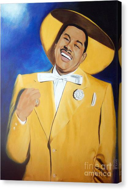 Cab Calloway In Color Canvas Print