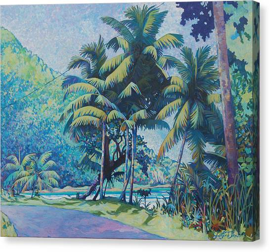 Cabana Beach Canvas Print