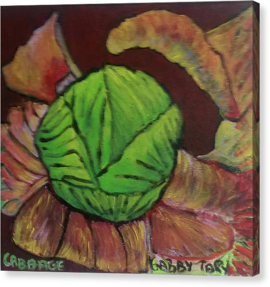 Cabbage Canvas Print