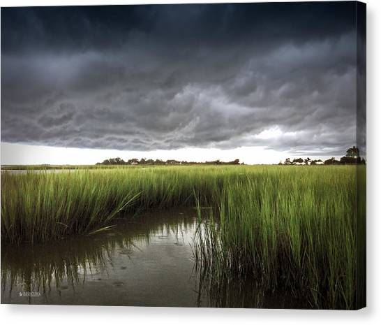 Cabbage Inlet Cold Front Canvas Print