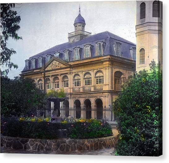 Cabildo In Color Canvas Print