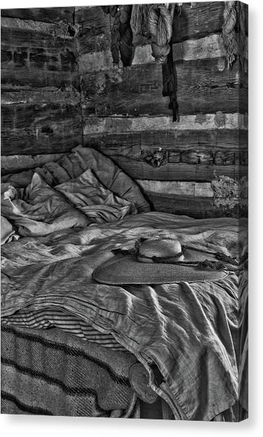 Cabin Bed Canvas Print